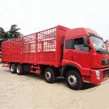 FAW 8*4 Jeu CHARIOT CA1313 340HP Camion Cargo Truck