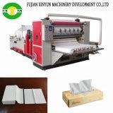 Máquina de tecido facial de dobramento de alta velocidade Máquina automática de papel de tecido facial