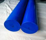 Nylon штанга, штанга PA6 штаног Nylon, штанга PA6 с белым, голубым цветом