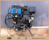 Machine de soudure automatique pour le bas de réservoir et la plaque de coin