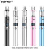 Smoking電気Vapor Pipes Esmoon 1500mAh Mod Vape Sub Ohm Kit