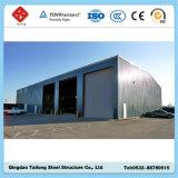 Camera d'acciaio della costruzione prefabbricata della costruzione della tettoia del magazzino