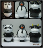 3oz/80ml forma animal Panda Helado de dibujos animados de la Copa de Promoción