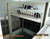 Лифт автомобиля платформы гидровлического подъема вала с дверью завальцовки опционной