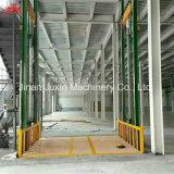 Guia de montagem em parede hidráulicos fixos de frete ferroviário da mesa de elevação com certificação CE