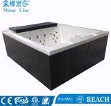 Monalisaのバルボアシステム・ファミリ使用されたLEDの渦の温水浴槽(M-3369)