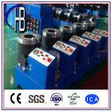 Máquina de friso da virola do encaixe de mangueira do certificado de Ce&ISO com 10 jogos dos dados para livre