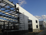 Taller ligero prefabricado de la estructura de acero de la alta subida (KXD-SSW150)