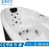 Monalisaのカップルによって使用されるセクシーな屋外の渦の鉱泉の温水浴槽(M-3360)