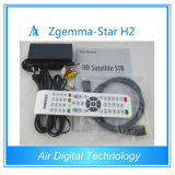 Black Color Zgemma-Star H2 Combo DVB-S2 + DVBT2 / C Original Samsung Tuner Built-in