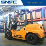 Carretilla elevadora del diesel del motor 3tons de Japón de la marca de fábrica de China Snsc