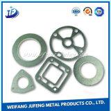 Soem-hohe Präzisions-Zink-Beschichtung-Metall, das ringsum Dichtung mit CNC Turning&Drilling stempelt