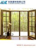 Porte en aluminium de tissu pour rideaux de type européen avec le gril de décoration
