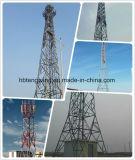 Высокомарочная гальванизированная башня стали угла телекоммуникаций 4 ног