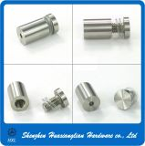 Edelstahl/Messing/bekanntmachende Seufzer-Glas-Aluminiumdistanzhülse