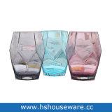 De Vazen van het Glas van de Kleur van het Ontwerp van de meetkunde