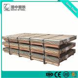 Feuille de carton ondulé recouvert de zinc/GI du panneau de toiture/tôle de toit ondulé en acier galvanisé