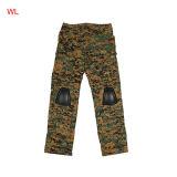 A caça militar do exército de filmagem Woodland Camouflage Bdu Tactical Pants Cl34-0058