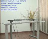 Pedestal mesa regulable en altura eléctrico