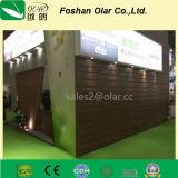 Planche respectueuse de l'environnement de voie de garage de décoration de la colle de fibre (panneau de voie de garage)