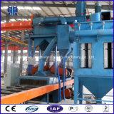 H1012 het Vernietigen van het Schot van de Plaat van het Staal van het Type van Transportband van de Rol Machine