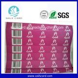 Wristbands di Tyvek del fornitore di Shenzhen con il codice a barre