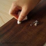 Luxuxvinylfliesen/kommerzieller hölzerner Planke-Bodenbelag/trocknen rückseitigen Kleber ausbreiten unten