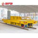 Rail motorisé chariot de transfert pour la manutention de matériel lourd (KPC-25T)
