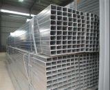 Tubo de acero del material de construcción Q235/tubo cuadrados galvanizados cubiertos cinc