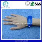 Eventos que recolhem o Wristband de papel de Disposible PP RFID