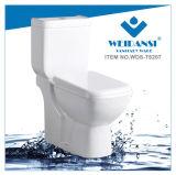 يغسل [ويدنس] خزفيّة إلى أسفل [س-ترب] اثنان قطعات مرحاض ([ودس-ت6207])