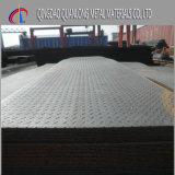 Placa Checkered do ferro do preto do aço suave de Q235 A36 hora
