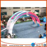 De populaire Afneembare Activiteit Gebruikte Boog van de Ingang van Inflatables van de Reclame