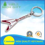 PVC macio personalizado Keychain com 2D logotipo em um lado