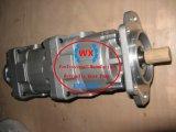 Heiße Ladevorrichtungs-vierstufige hydraulische Lenkzahnradpumpe-Aufbau-Maschinerie-Ersatzteile KOMATSU-Wa420: 705-55-34080