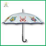 Douze personnalisé horoscope chinois Animaux arbre long Golf parapluie avec les impressions de photo 12 panneaux pour la promotion