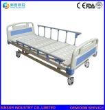 Letto di ospedale elettrico di lega d'alluminio dello strumento medico della guardavia 3-Crank