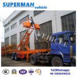 20FT Kipper van de Aanhangwagen van de Kipwagen van de Lading van het Vervoer van de container de Semi