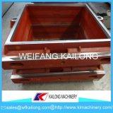 Caixas elevadas da areia da produção, produto Ductile da caixa do molde da areia de ferro do ferro cinzento