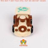 工学手段のおもちゃの子供の幼児の男の子のためにセットされる一定の小型ダンプのブルドーザーのトラクターのトラックのコンクリートミキサー車を4詰めなさい引きパワープレー行く摩擦押行きなさい