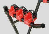 Zubehör-Fahrrad-Zahnstangen-Fahrrad-Träger des Fahrrad-3PCS