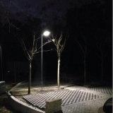 50W de LEIDENE van het zonnepaneel Openlucht Lichte Lantaarn van de Tuin