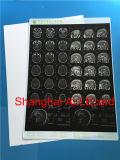 Impressão a jato de tinta branca rígida animais de filme de raios X