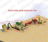Linea di produzione della pallina della paglia di 5 Ton/H