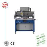 Impressora de tela vertical de mesa para o PVC com mesa de sucção a vácuo