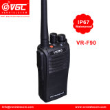 El transceptor VHF Impermeable IP67/Radio bidireccional de intercomunicación Walkie Talkie
