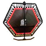 O elástico pequeno do armazenamento fácil profissional Cords o Trampoline com punho de dobramento