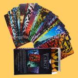 Tarjetas de juego grises a todo color de tarjetas que juegan del papel de base de Tarot