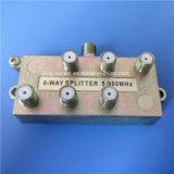 3 Splitter сплава цинка дороги 5-2400MHz (SP-012)