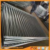 Rete fissa di alluminio rivestita del raggruppamento di sicurezza della parte superiore piana della polvere